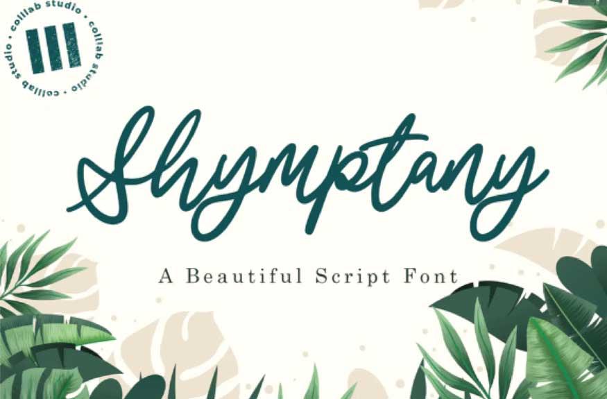 Shymptany Font