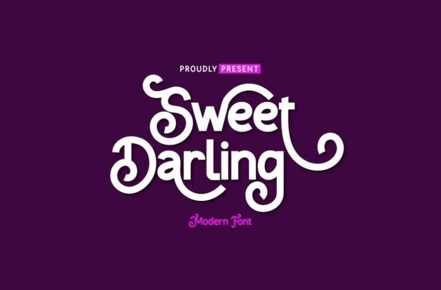 Sweet Darling Font