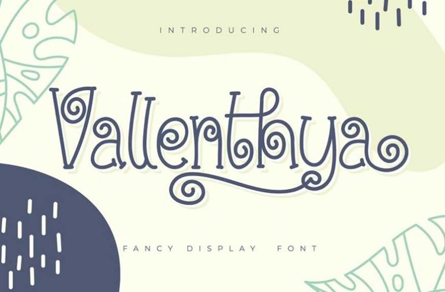 Vallenthya Font