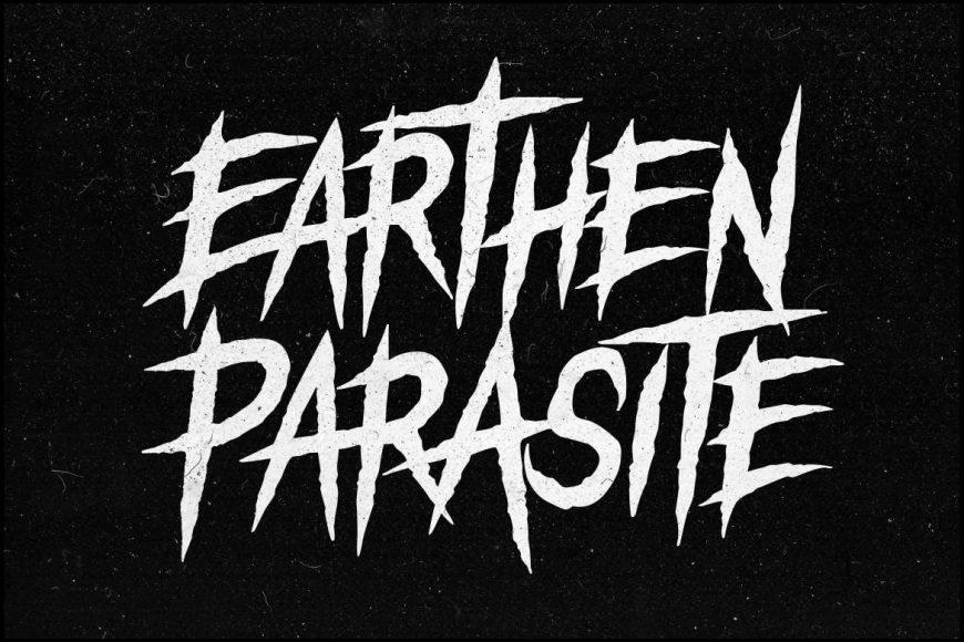 Earthen Parasite - Horror Font