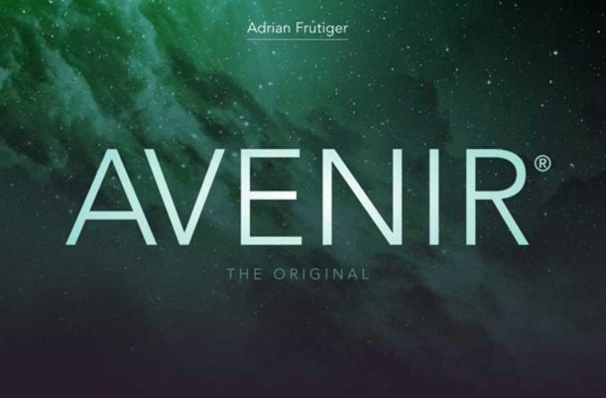 Avenir Font